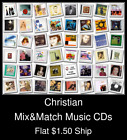 Christian(10) - Mix&Match Music CDs U Pick *NO CASE DISC ONLY*