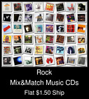 Rock(12) - Mix&Match Music CDs U Pick *NO CASE DISC ONLY*