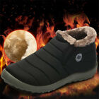 Men's Winter Snow Ankle Boots With velvet Thicken Warm Casual Shoes Multi-size