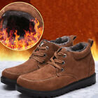 Men's Winter Warm Snow Boots With velvet Thicken Lace Up High Top Casual Shoes