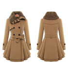 Womens Ladies Winter Warm Long Parka Casual Coat Trench Outwear Overcoat Jacket