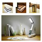 Portable Foldable 21 LED Desk Table Lamp Rechargeable Reading Light for Bedroom
