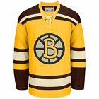 Reebok NHL BOSTON Bruins Vintage Premier Alternate HOCKEY Jersey Mens LACE TOP $99.95 USD on eBay