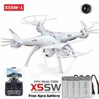 LOT Syma X5SW 2.4Ghz RTF RC Quadcopter Drone with HD Camera +4 Batteries  TO