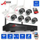 ANRAN 6/8CH 960P Home Wireless Security Camera System Outdoor 1.3MP NVR Kits 1TB