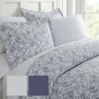 Hotel Collection Premium Ultra Soft 3 Piece Coarse Paisley Print Duvet Cover Set image