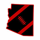 Premium Layered Arizona Cardinals AZ State Football Vinyl Sticker Decal