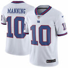 Eli Manning 10 New York Giants Mens White Color Rush Home Game Jersey