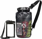 Earth Pak Dry Bag and Waterproof Phone Case 10L 20L Transparent So You