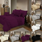 New Luxury Elastic Cuff Poly cotton Duvet Cover Set Pillow Cases Bedding Sets
