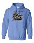 Gildan Hooded Hoodie Pullover Sweatshirt Sports Hockey Skates Lord Of The Rinks