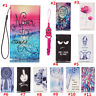New fashion Cartoon Flower Leather slots wallet pouch case skin cover #4 L