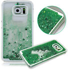 Dynamic 3D Quicksand Liquid Moving Glitter Case Cover For Samsung Galaxy S6 G920