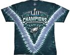 New PHILADELPHIA EAGLES  SUPERBOWL CHAMP CHAMPIONSHIP T SHIRT NFL