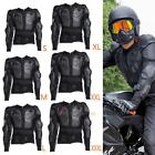 Motorcycle Full Body Armor Jacket Spine Chest Shoulder Protection Riding Gear US