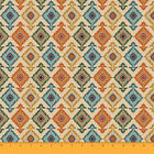 Soimoi Moss Georgette 44 Inches Wide Fabric Ikat 130 Gsm Sewing Supply 1 Mtr