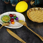 Ceramics Gold Plated Fruit Tray Bowl Food Dish Plate Bread Dish Plate 6-8inch
