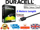 Genuine-Duracell-Lightning-Cable-For-iPhone-iPad (2M) Retail Box