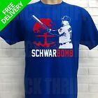 CHICAGO CUBS KYLE SCHWARBER ***SCHWARBOMB*** T-SHIRT on Ebay