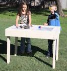 NEW CHILD'S WOOD SAND BOX / WATER SENSORY PLAY TABLE - 41...