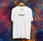 New 90th GOLF T-shirt Tyler The Creator OFWGKTA Golf Wang Skate Frank Ocean 2018