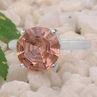 Simulated Pink Morganite 925 Sterling Silver Ring Jewelry Size 6-9 DGR1079_F