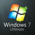 windows 7 pc software - Windows 7 Ultimate  32/64Bit Retail Code  Lifetime Key Lisence 1PC Multilingual