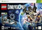 XBOX 360: LEGO Dimensions Starter Pack - Game/Legos Sealed - Open Retail Box