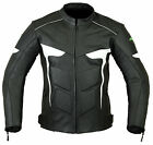 Mens RIDEX LJ-2 Biker Motorbike Motorcycle Leather Jacket CE Armours All Sizes
