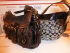 Lot of 2 authentic Coach bags