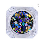 Ultrathin Nail Art Sequins UV Gel Colorful Shiny Round Manicure Decoration