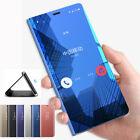 Mirror Clear View Smart Flip Case Cover For Samsung Galaxy S8 Note 8 S7 S6 Edge