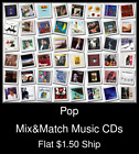 Pop(4) - Mix&Match Music CDs U Pick *NO CASE DISC ONLY*