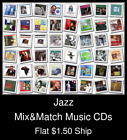 Jazz(7) - Mix&Match Music CDs U Pick *NO CASE DISC ONLY*