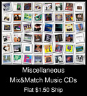 Miscellaneous(17) - Mix&Match Music CDs U Pick *NO CASE DISC ONLY*