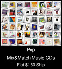 Pop(21) - Mix&Match Music CDs U Pick *NO CASE DISC ONLY*