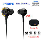 Genuine Philips SHE6000 HiRes Earphones Sport Headset For iPhone Android Phone