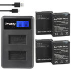 Probty GOPRO3 Battery Charger for GoPro AHDBT-201, AHDBT-301, AHDBT-302, Hero3