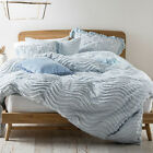 NEW Drift Soft Blue Quilt Cover Set