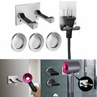 Stainless Steel Wall Mount Bracket Hair Dryer Holder Hook for Dyson Supersonic