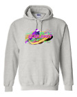 Gildan Hoodie Pullover Sweatshirt Sports Hockey Slap Shot