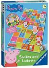 New Ravensburger Peppa Pig Snakes & Ladders Game