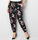 AVENUE Floral Jogger Womens Plus Size