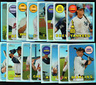 2018 TOPPS HERITAGE CHROME REFRACTOR  PARALLEL /569:  COMPLETE YOUR SET YOU PICK
