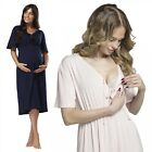 Zeta Vile. Women's Maternity Nursing Breastfeeding Nightdress Shirt Gown.191p