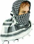 HIGHLANDER SHEMAGH SCARF 100% COTTON SNOOD BIKER STUDENT INDIE EMO FACE COVER