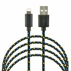 Braided USB Data Sync Charging Charger Cable Cord For IPad/IPhone IPod 6ft