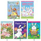 Bunny and Tulips Easter Garden Flag Spring Floral Briarwood