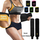 tummy wrap - Unisex Waist Tummy Trimmer Sweat Band Body Shaper Belt Wrap Fat Burn Exercise