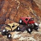 2.4G RC Electric Truck 1:16 Scale 4WD Vehicle w/ LED Remote Control Climb Truck
